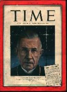 Time-12/25/44-Pony Edition-Norway's Bishop B.