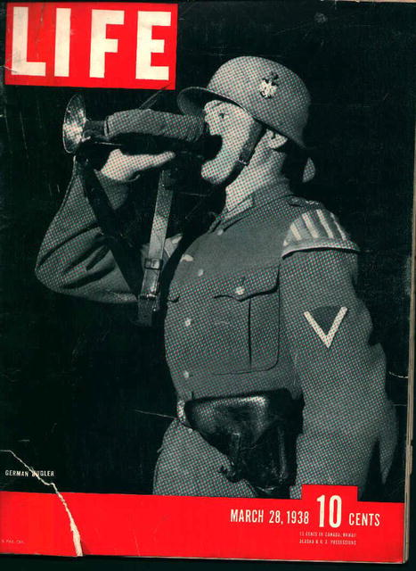 Life-3/28/38- German Bugler, Hitlers Parents