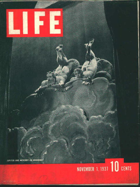 Life-11/1/37-Negro Stonecutter, Milking Mouse