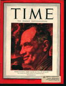 Time-8/9/43-  Maj Gen Terry Allen on Cover!