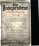 The Independent, a weekly magazine 9/25/1913