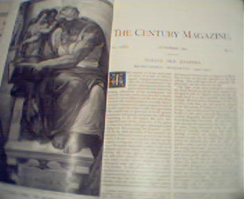 Century!-11/1891 Michaelangelo,Menzel,Women