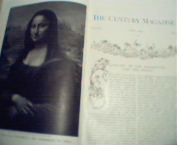 Century!-4/1891 Mona Lisa, Race, Revolutions!