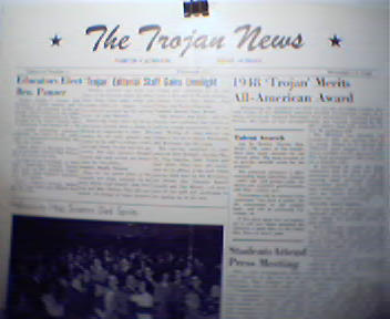 Trojon News-11/17/48 Br.Panzer,Sodality,Award