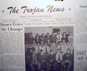 Trojon News-12/19/47-Ruzza,Glee Club,Actors!