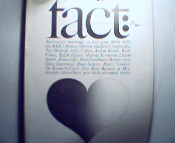 Fact;1-2/66 Interracial Marriage,Avoid Draft!
