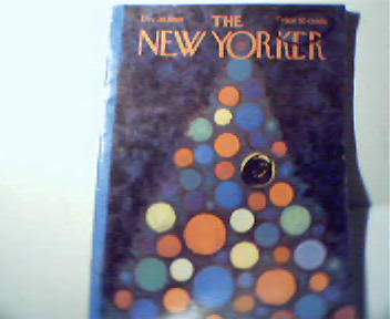 The New Yorker-12/20/69-Bernie Glow,Minox Ad!