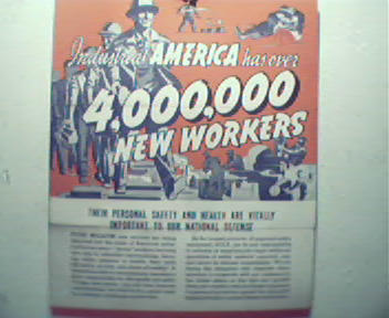 MSA 2 Page Ad Insert from Sat Eve Post!1940s