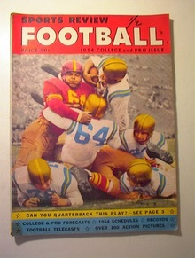 1954 Sports Preview Football,College and Pro
