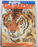 NFL GameDay Mag. 9/19/93 Steelers vs. Bengals