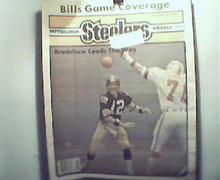 Pgh Steelers Wkly-12/18/82 Terry Bradshaw,Buffalo,More