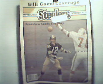 Pgh Steelers Wkly-12/18/82 Terry Bradshaw,Buffalo,More