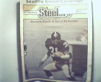 Pgh SteelersWkly-12/4/82 Donnie Shell, Jim Smith!