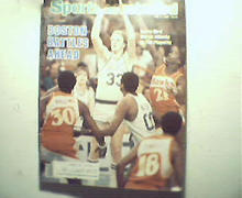 Sports Illustrated-5/2/1983 Celtics, Larry Bird Cover!
