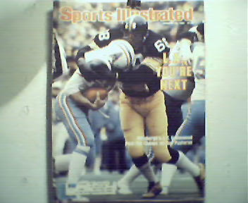 Sports Illustrated-1/14/80 NFL Playoffs, Alabama,Ph Fly