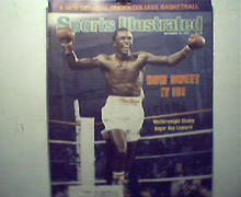 Sports Illustrated-12/10/79 Sugar Ray, Lynn Swann!