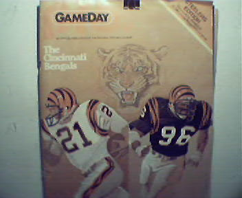 Gameday-12/13/81 Steelers vs Bengals!
