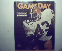 Gameday-Steelers vs Cleveland Browns 1/2/83!