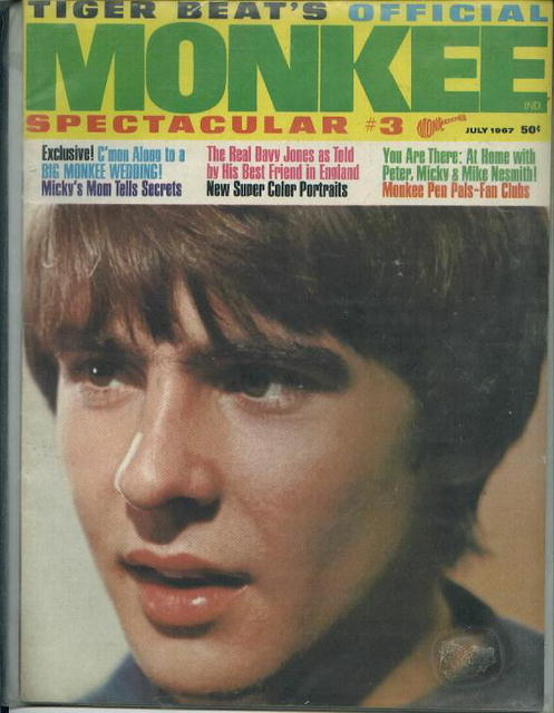 Monkee Spectacular #3, 7/67