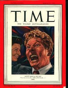 Time-3/11/46 Danny Kaye! Negro Baby in Ad!