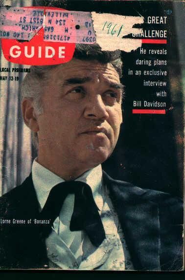 TV Guide-May 13-19 62' Walt Disney=Aesop?