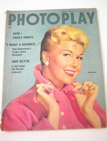 Photoplay,2/1955,Doris Day cover
