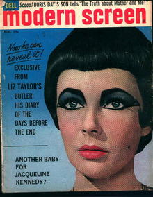 Modern Screen-8/1962- Liz Taylor on Cover!