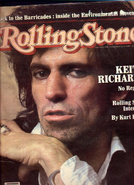 RollingStone Mag. Issue 356 November 12 1981