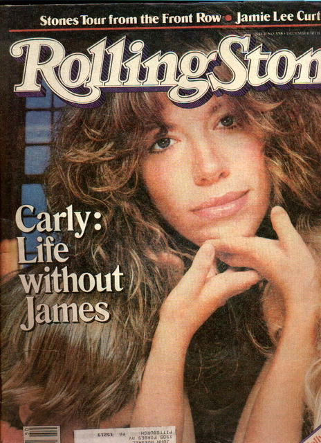 RollingStone mag. issue 358 December 10, 1981
