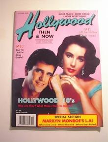 Hollywood,10/1990,Marilyn's L.A.!Liz Taylor
