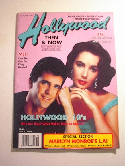 Hollywood,10/1990,Marilyn's L.A.!Liz Taylor