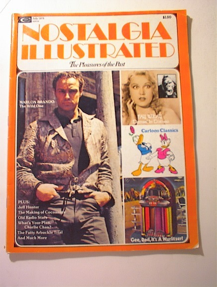 Nostalgia Illustrated,7/1975,Marlon Brando