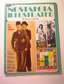 Nostalgia Illustrated,5/1975,Laurel & Hardy