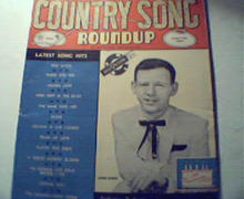 Country Song Roundup!-6/57-Jie Reeves,Gone,Tr