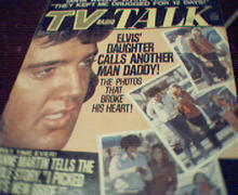 TV Talk=8/73-Elvis Daughter,Jeanne Martin!