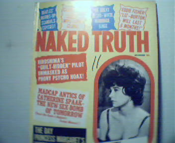 Naked Truth-11/64 Liz and Dick,JFK,More!