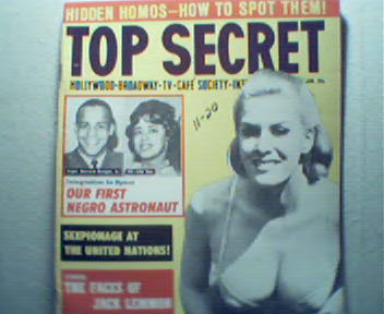 Top Secret-1/64 Homos in Hiding,NegroAstronau