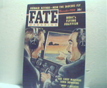 Fate-11/54 How Saucers Fly, Lord Dowding!