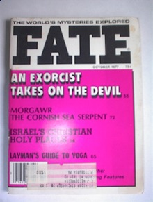 FATE Magazine,10/77,Israel's Christian Places