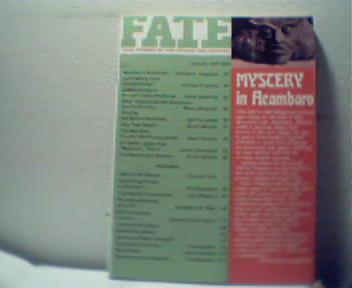Fate-1/74 Acambaro,Uri Geller,Sphinx Promise!