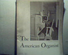American Organist-3/37 Bach,Rx Music from Doc