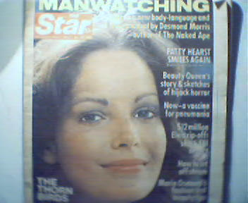 STAR!-11/15/77 Marie Osmond,Thorn Birds!