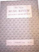 The New Music Review/Church Music,1/1934