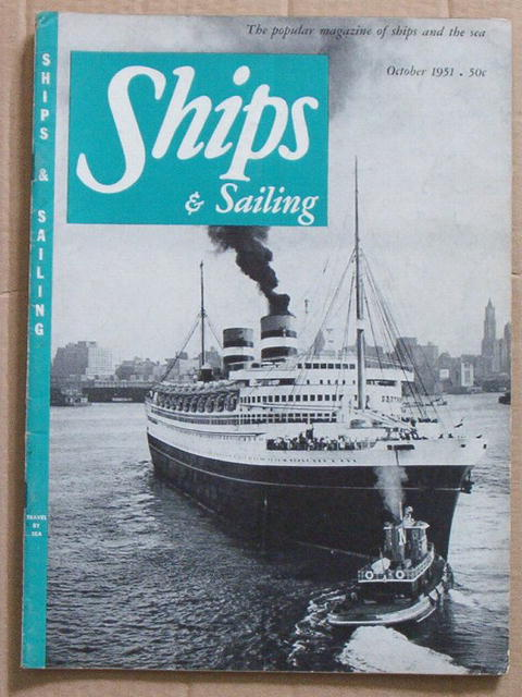 Ships & Sailing 10/51 - Undersea Cable Repair