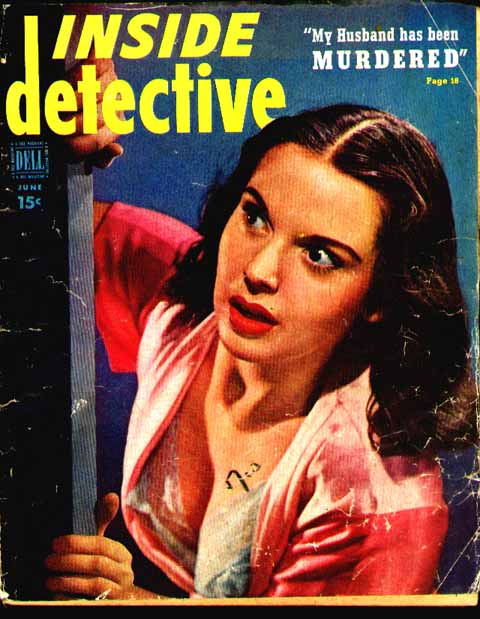 Inside Dectective June 1950 True Crime Storys