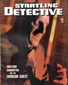 Startling Detective 6/1944 The Crimson Guest