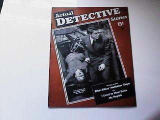 DECEMBER 1940 ACTUAL DETECTIVE STORIES MAGAZ