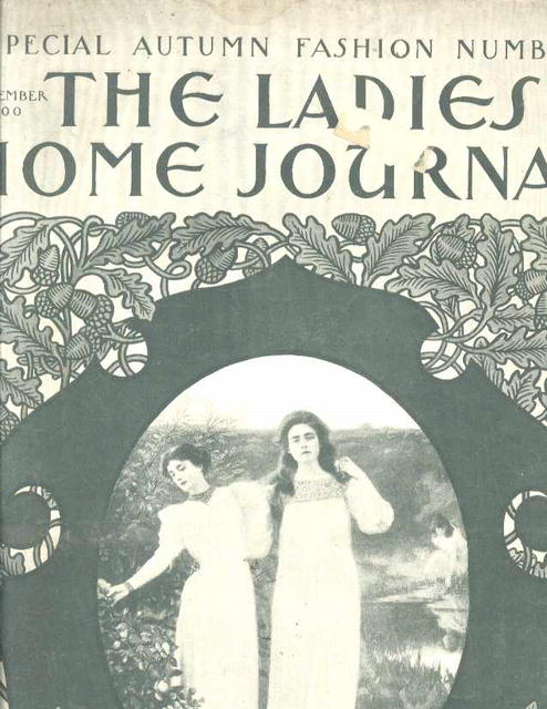 Ladie Home Journal, Sept. 1900 fashion,frost