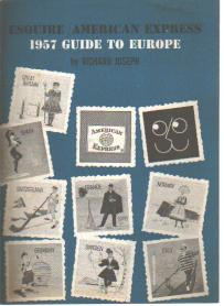 Esquire American Express 1957 guide to Europe