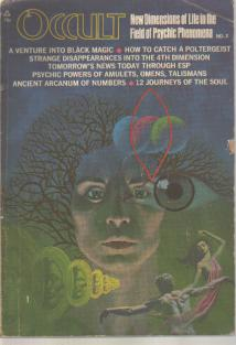 Occult Magazine #2 1970 Magic Psychic Powers